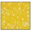Czech 9/0 3-cuts seed bead hank 85011 (YELLOW SATIN)